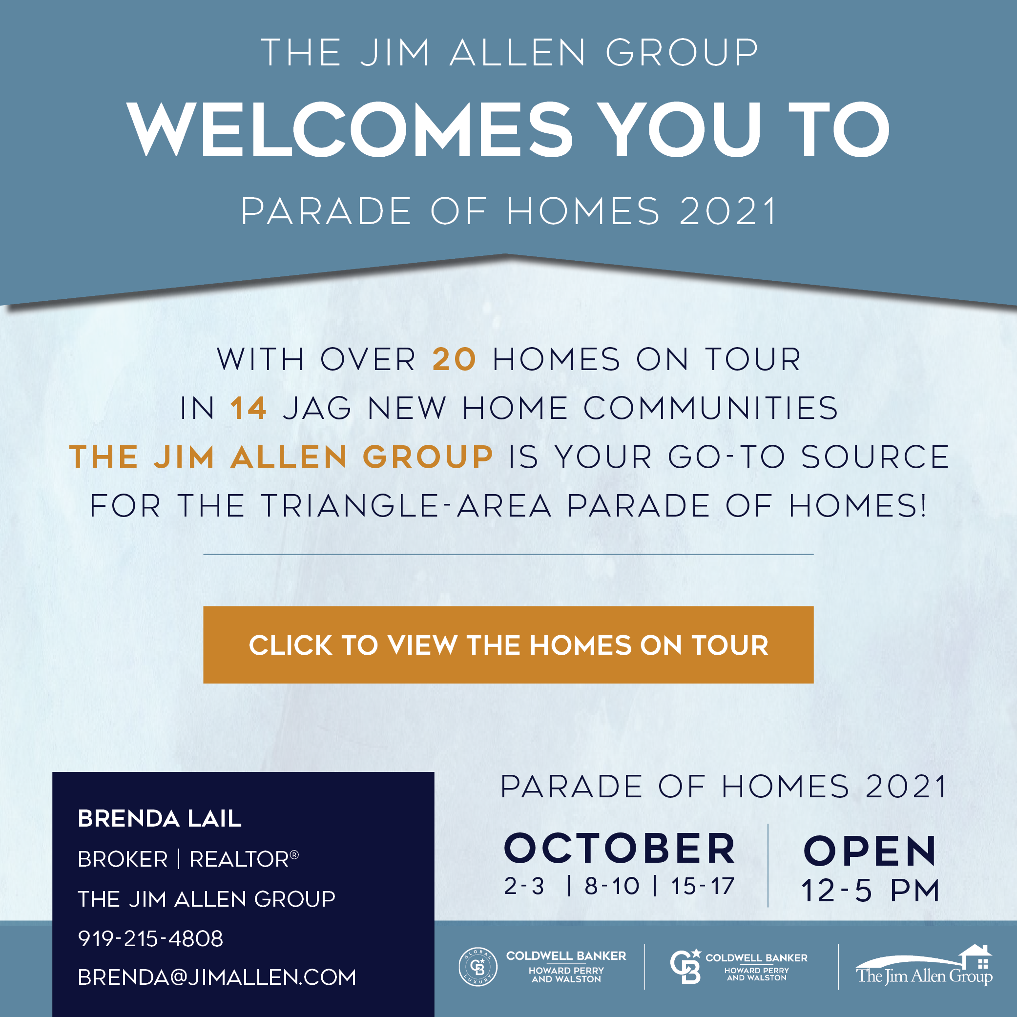 Brenda Lail | Parade of Homes 2021 | The Jim Allen Group