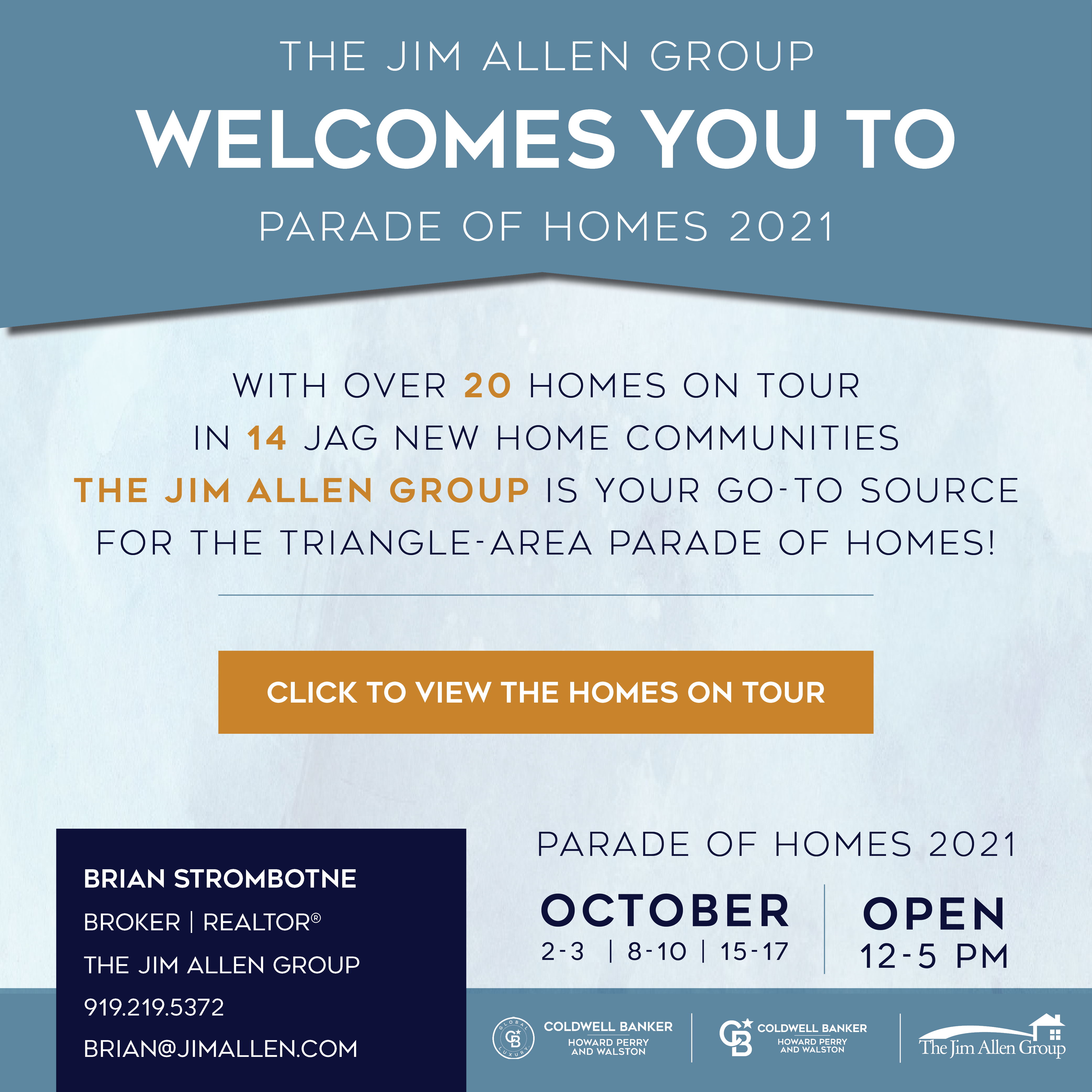Brian Strombotne | Parade of Homes 2021 | The Jim Allen Group
