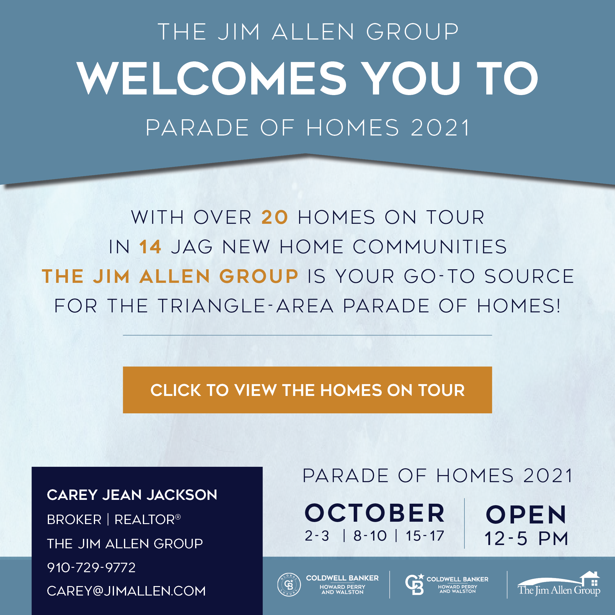 Carey Jean Jackson | Parade of Homes 2021 | The Jim Allen Group