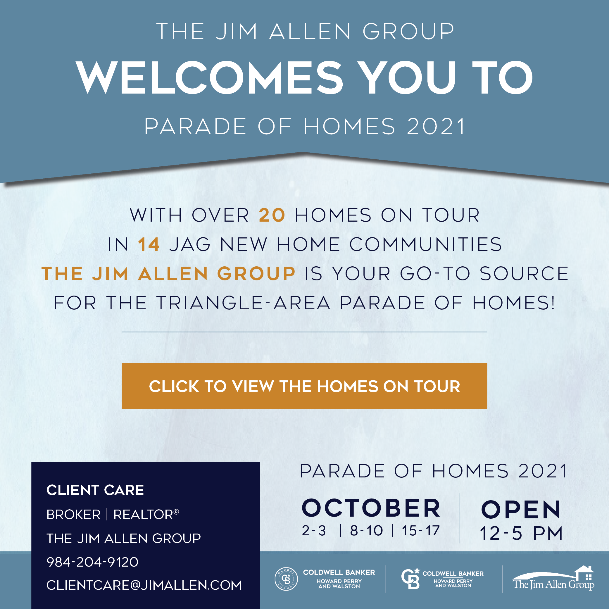 Client Care   Parade of Homes 2021   The Jim Allen Group