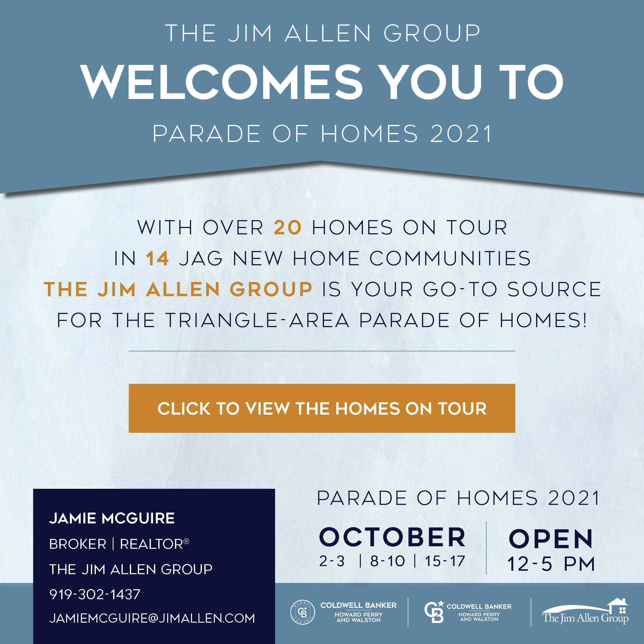 Jamie McGuire | Parade of Homes 2021 | The Jim Allen Group