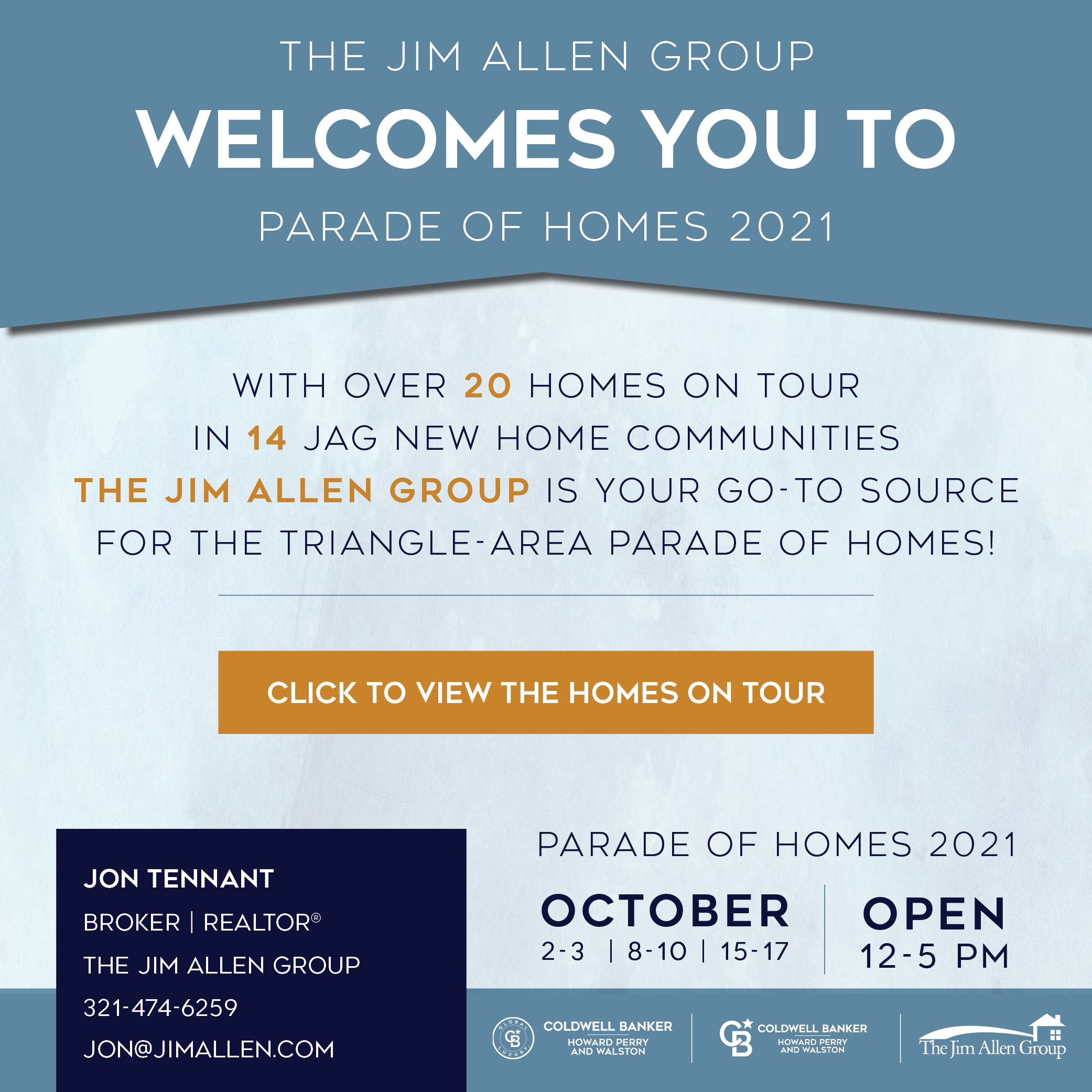 Jon Tennant | Parade of Homes 2021 | The Jim Allen Group