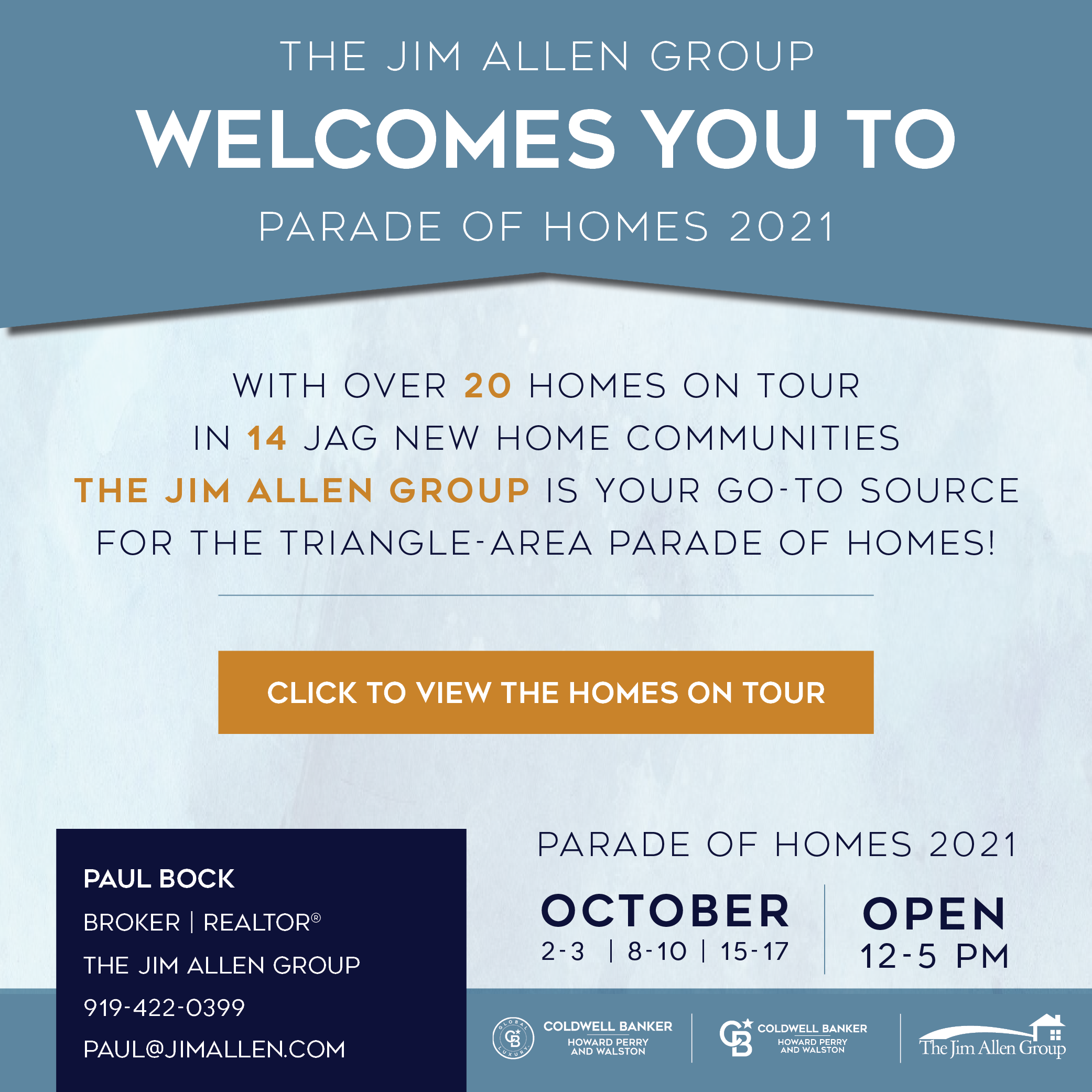 Paul Bock   Parade of Homes 2021   The Jim Allen Group